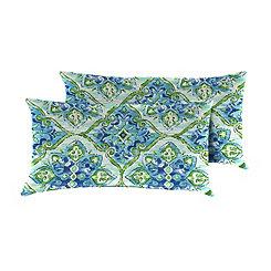 Splendor Outdoor Accent Pillows, Set of 2