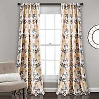 Amelia Garden Curtain Panel Set, 84 in.