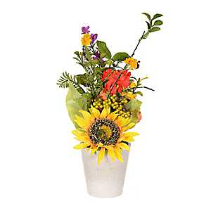 Sunflower and Daisy Arrangement