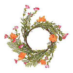 Fern and Flower Candle Ring