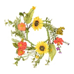 Sunflower Candle Ring