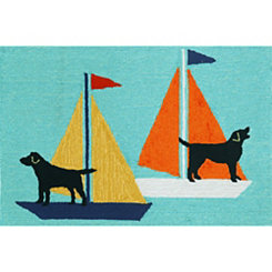 Sea Dogs Outdoor Mat