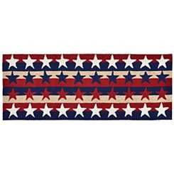 Old Glory Star Outdoor Runner