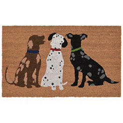 Triple Fun Doormat