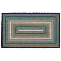 Blue Boxes Doormat