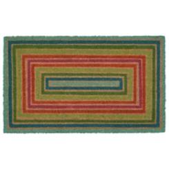 Multicolor Boxes Doormat