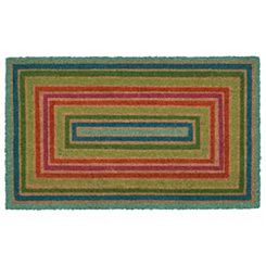 Multicolor Boxes Doormat