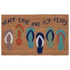 Love and Flip Flops Doormat