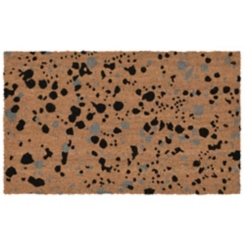 Black Speckle Doormat