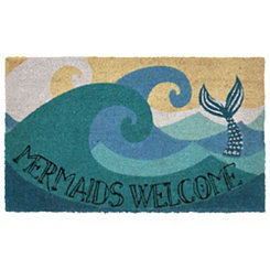 Mermaids Welcome Doormat