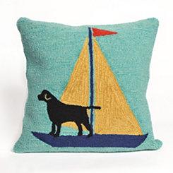 Sea Dogs Outdoor Pillow