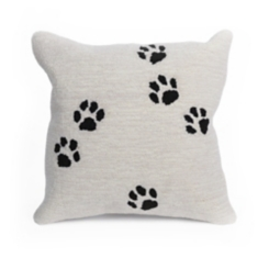 Animal Tracks Outdoor Pillow