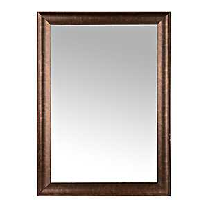 Classic Bronze Framed Wall Mirror, 33x42 in.