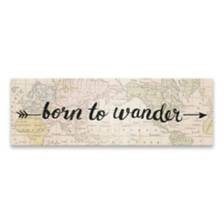 Born to Wander Canvas Art Print