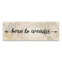 Born to Wander Canvas Art Print