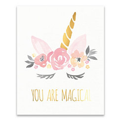 You Are Magical Unicorn Canvas Art Print