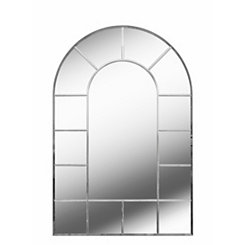 Finestra Arch Windowpane Mirror, 24x36 in.