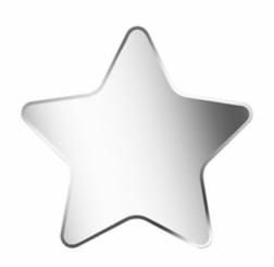Starshine Frameless Moreno Mirror, 30x30 in.