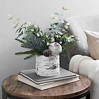 Pine Greenery Christmas Floral Arrangement