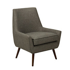 Dark Gray Modern Accent Chair
