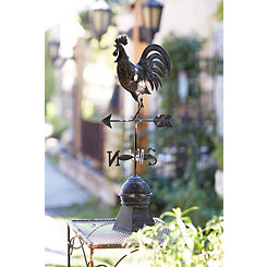 Bronze Rooster Weathervane