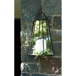 Mirrored Wall Mounted Lantern