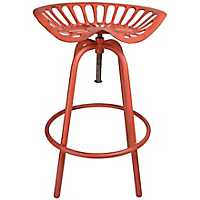 Red Tractor Seat Stool