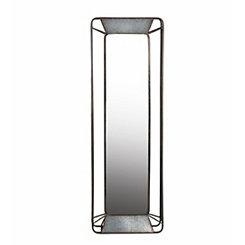 Carver Rectangular Iron Wall Mirror
