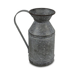 Galvanized Metal Jug
