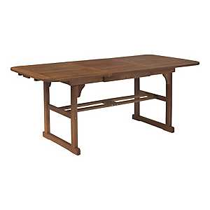 Acacia Dark Brown Butterfly Patio Dining Table