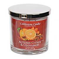 Autumn Citrus and Cinnamon Jar Candle