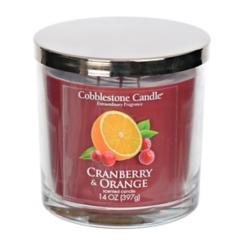 Cranberry and Orange Jar Candle