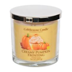 Creamy Pumpkin Frosting Jar Candle