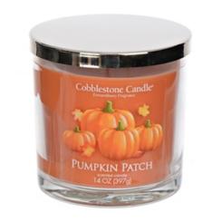 Pumpkin Patch Jar Candle