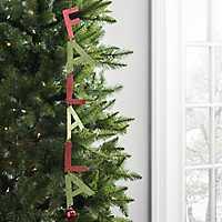 Fa La La Christmas Ornament