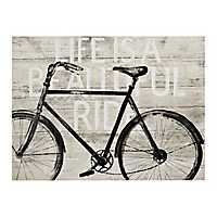 Beautiful Ride Bike Canvas Art Print