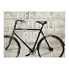 Beautiful Ride Bike Canvas Art Print