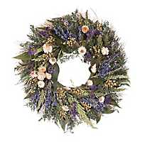 Dried Lavender Berry Wreath