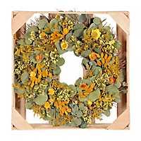 Yellow Buttercup Wreath