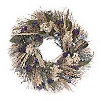 Dried Eucalyptus Wheat Wreath