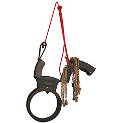 Tire Horse Swing with Hanging Rope