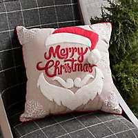 Merry Christmas Santa Pillow