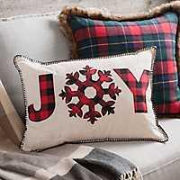 Buffalo Check Joy Accent Pillow