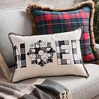 Buffalo Check Noel Accent Pillow