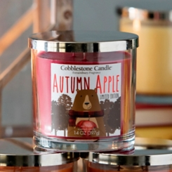 Autumn Apple Jar Candle