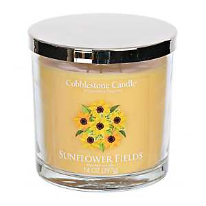 Sunflower Fields Jar Candle
