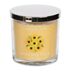 Sunflower Fields Jar Candle