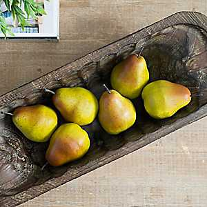 Filler Pears, Set of 6