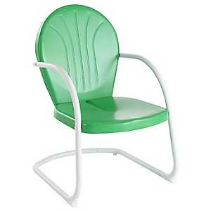 Griffin Metal Green Outdoor Chair