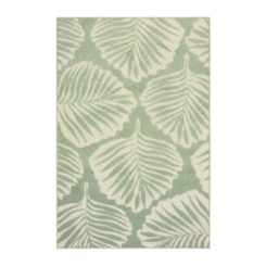 Green Botanical Outdoor Ripley Area Rug, 5x7